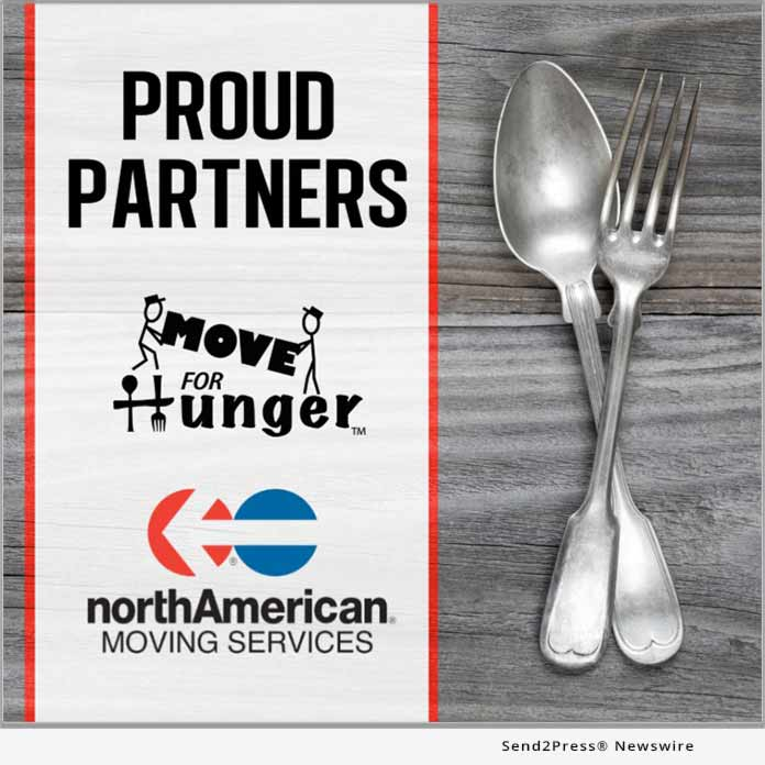 Move For Hunger and northAmerican Moving