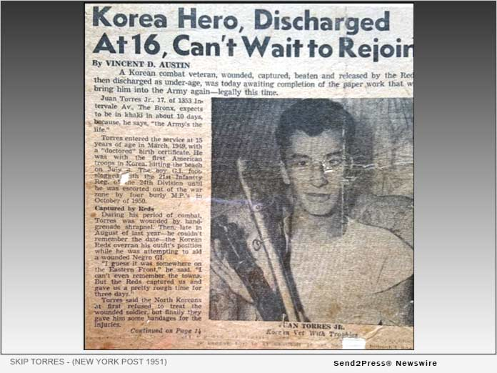 Skip Torres discharged - New York Post 1951