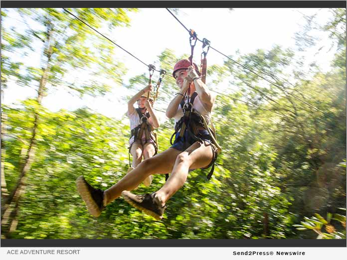 ACE Adventure Resort - zip lines