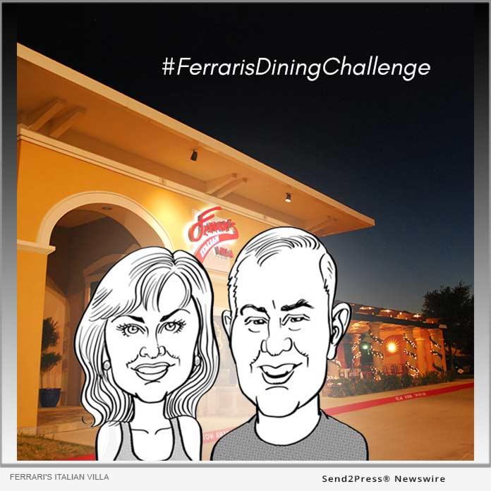 Ferrari's Italian Villa - Dining Challenge
