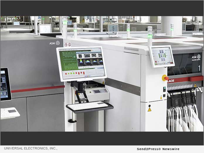 Universal Electronics invests in new manufacturing equipment