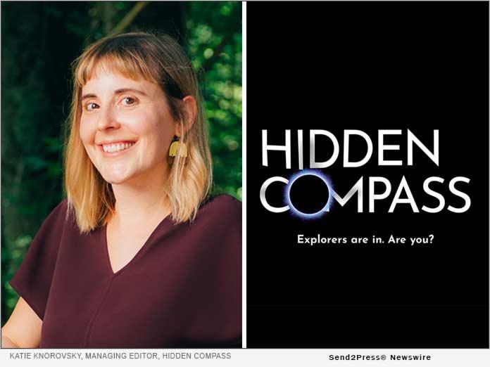 Katie Knorovsky, editor of Hidden Compass