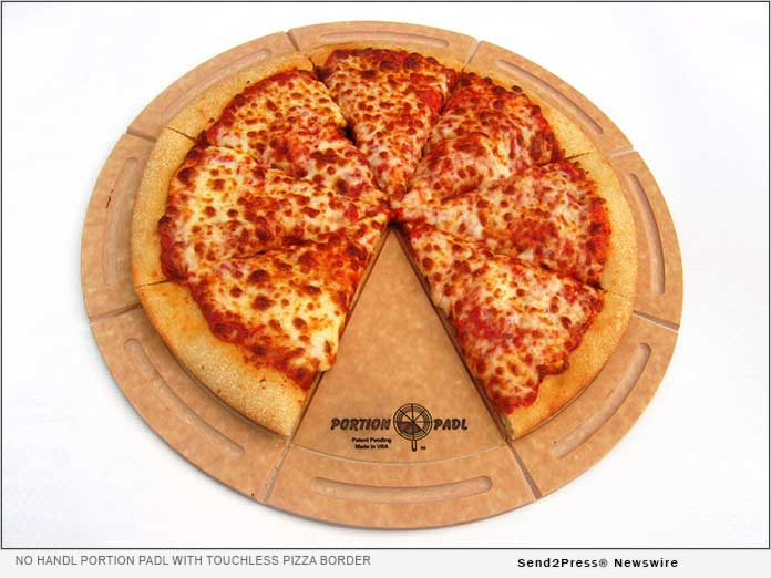 The Portion PadL with the Touchless Pizza Border