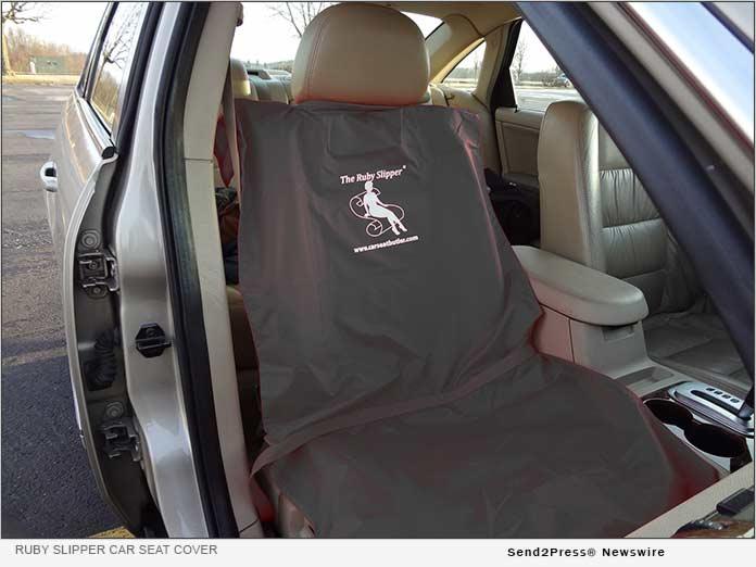Ruby Slipper Car Seat Cover