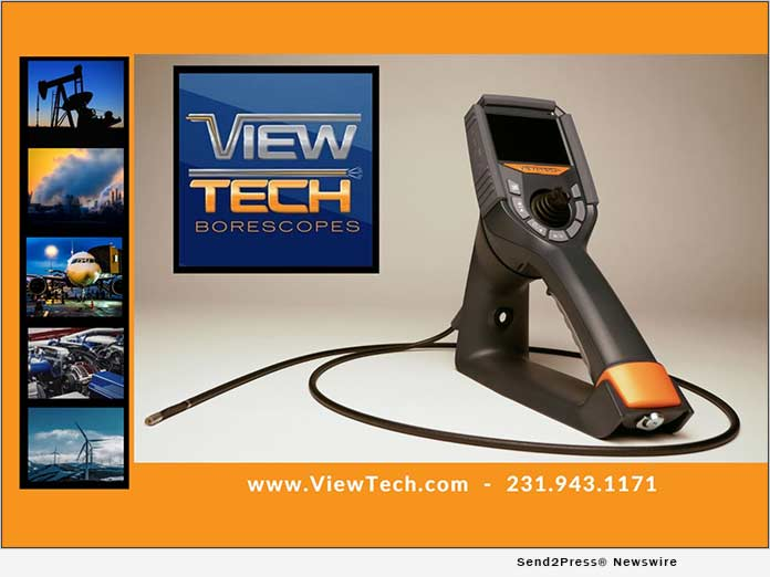 VJ-3 mechanical articulating video borescope