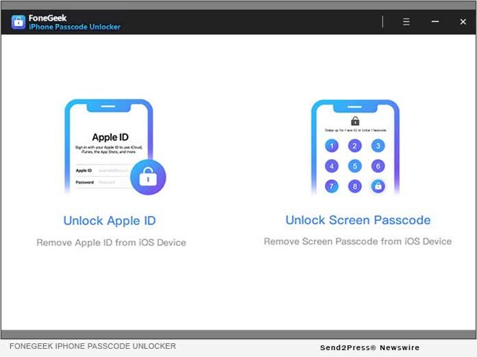 FoneGeek Passcode Unlocker