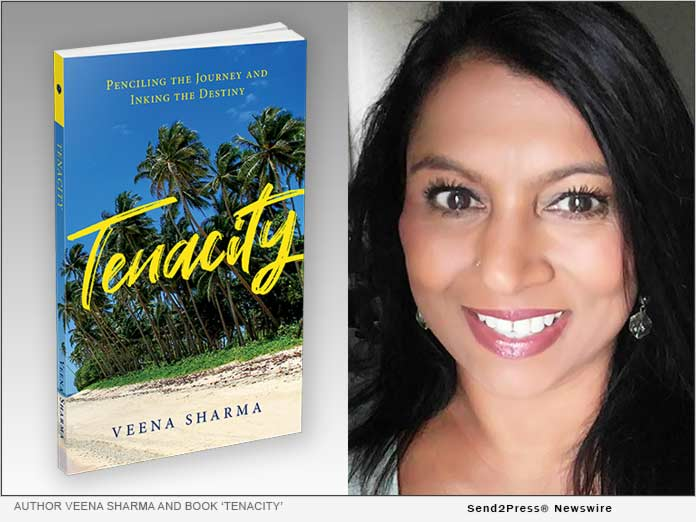 Author Veena Sharma and her book TENACITY