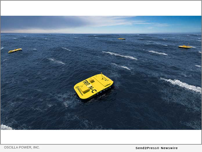 Oscilla Power, Inc. is developing advanced technology to extract energy from ocean waves