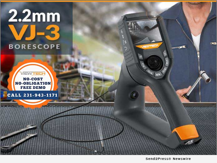 Viewtech 2.2mm VJ-3 Borescope