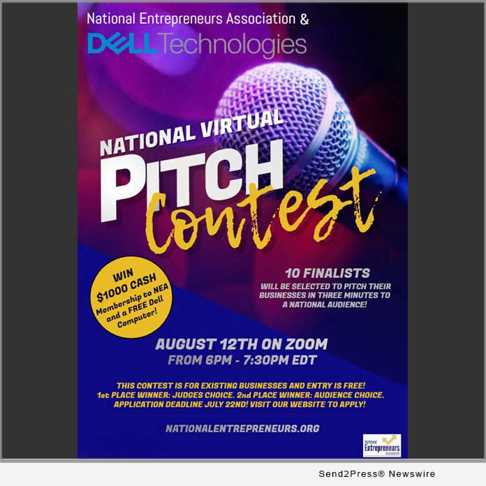 Registration for the National 2020 Virtual Pitch Competition for Entrepreneurs is Now Open