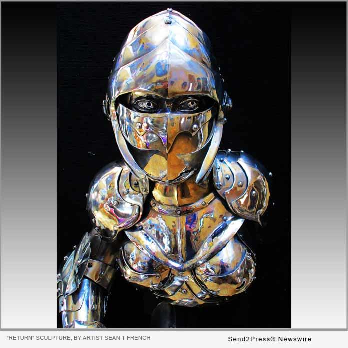 RETURN sculpture by artist Sean T French