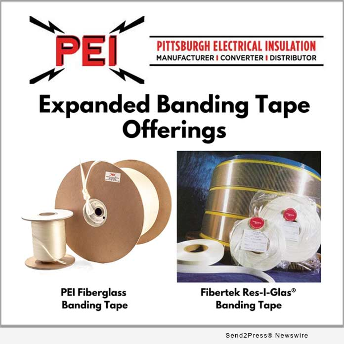 PEI Expanded Banding Tape Offerings