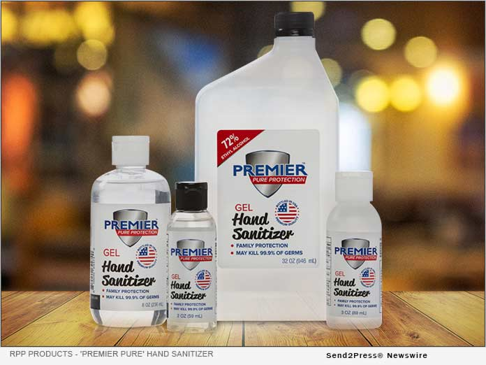 RPP Products 'Premier Pure' Hand Sanitizer