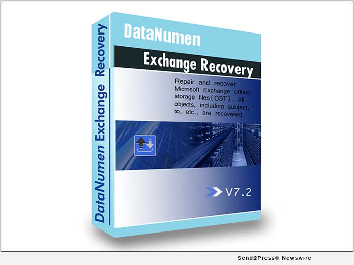 DataNumen Exchange Recovery Software v7.2