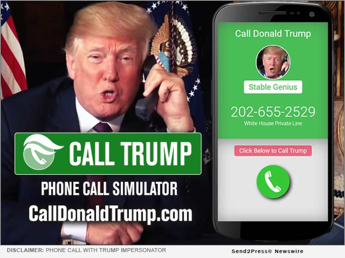 Call Donald Trump (satire) CallDonaldTrump.com