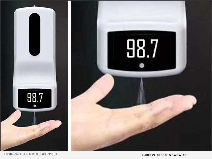 Disinpro ThermoDispenser