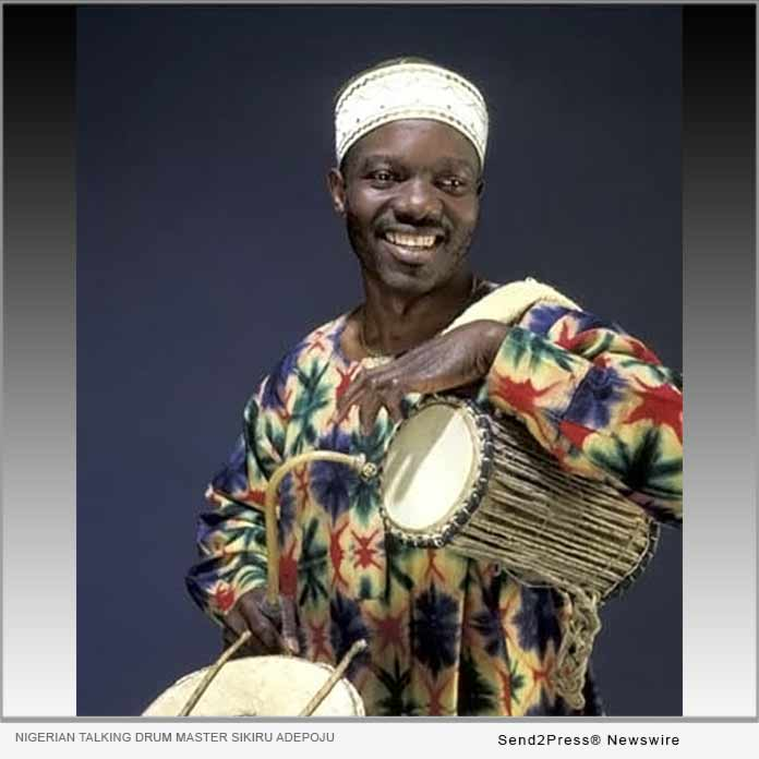 Talking Drum Master Sikiru Adepoju