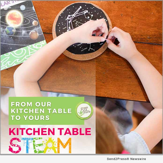 Green Kid Crafts launches Kitchen Table STEAM