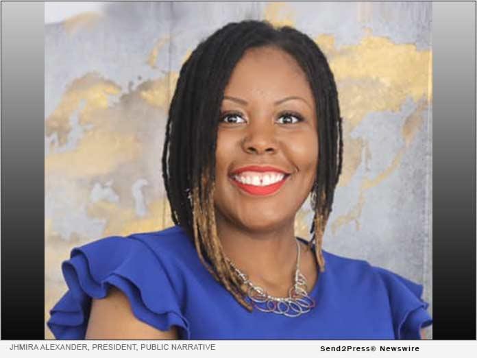 Jhmira Alexander, President, Public Narrative