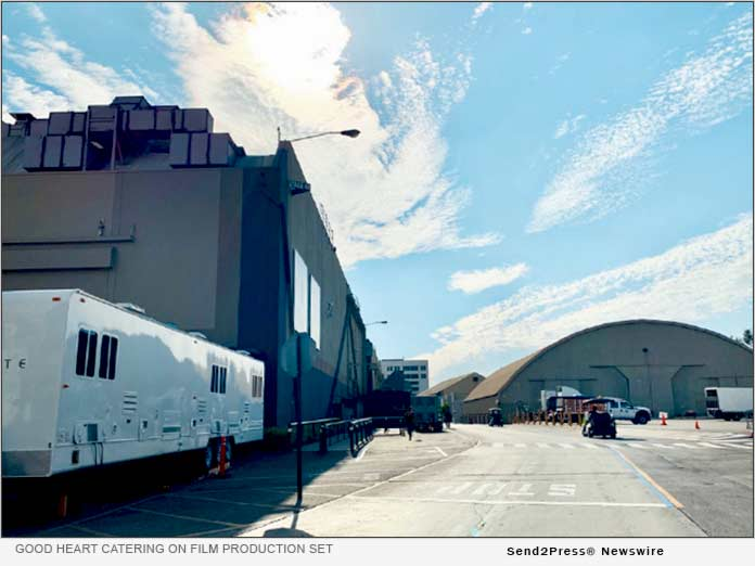 Good Heart Catering on L.A. Film Sets