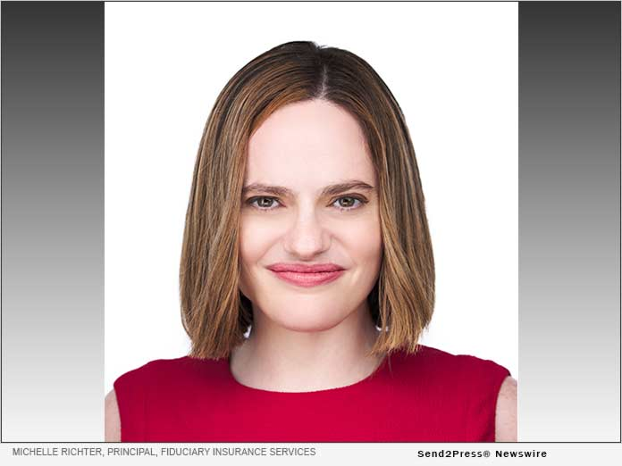 Michelle Richter, Principal, Fiduciary Insurance Services