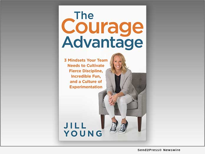 Book, The Courage Advantage, by JILL YOUNG