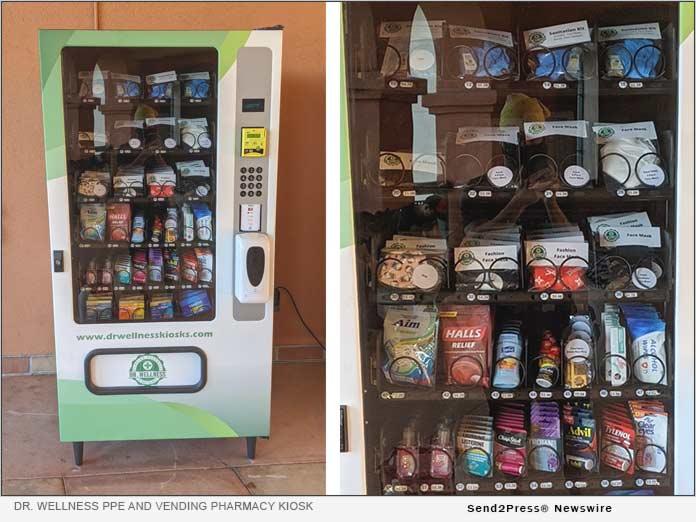 Dr. Wellness PPE and Vending Pharmacy Kiosks