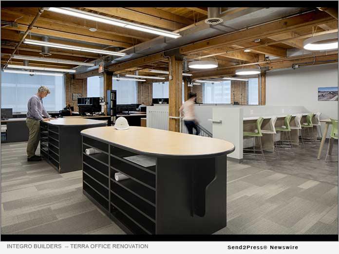 TERRA Office Renovation - Integro Builders