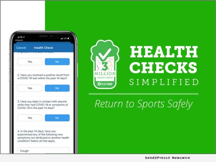 TeamSnap - Health Checks Simplified