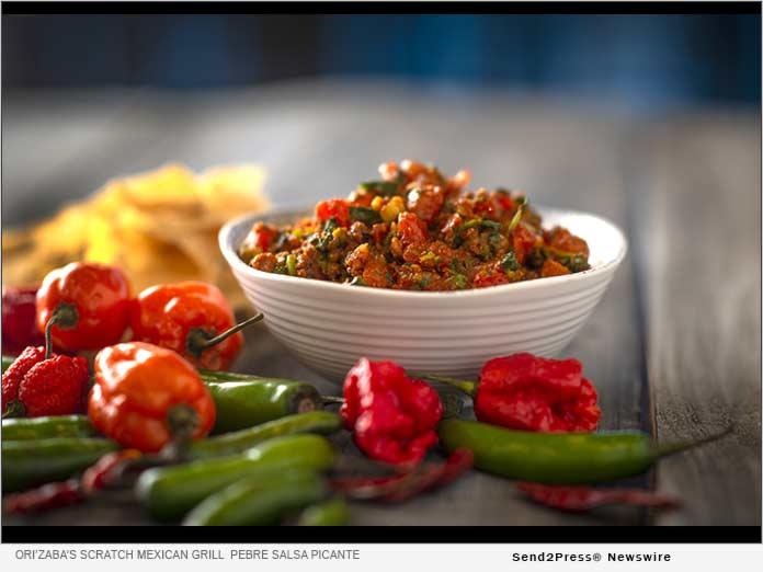 Pebre Salsa Picante - Ori'Zaba's Scratch Mexican Grill