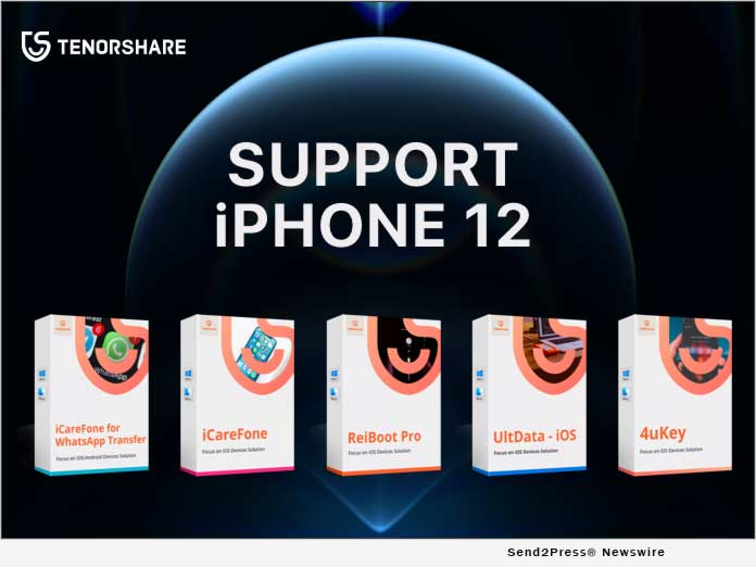 All Tenorshare Software is now Compatible with iPhone 12 and 12 Pro