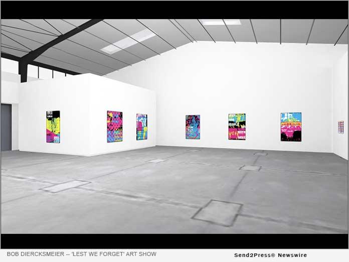 Artist Bob Diercksmeier - Lest We Forget