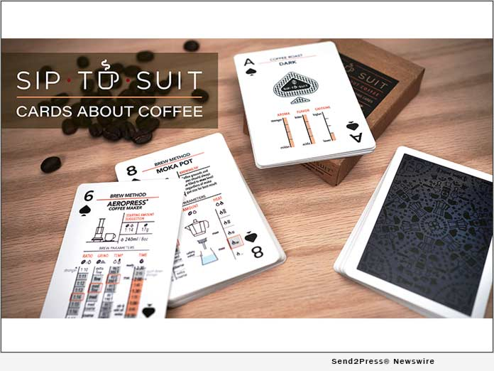 Sip to Suit - Cards about Coffee