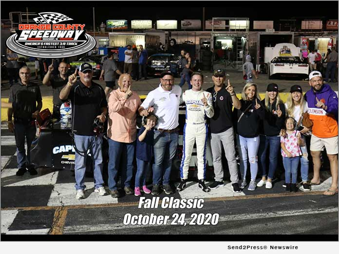 William Cox wins Fall Classic 2020