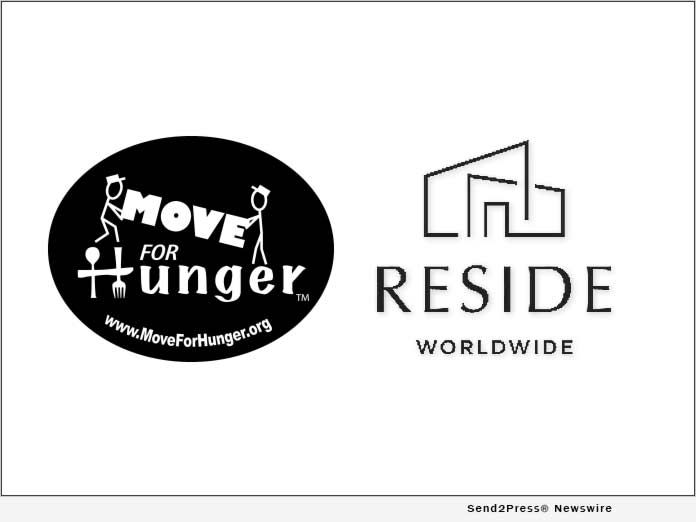 Move For Hunger and RESIDE Worldwide