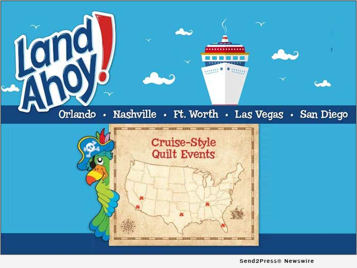 Land Ahoy! Cruise-style Quilt Events
