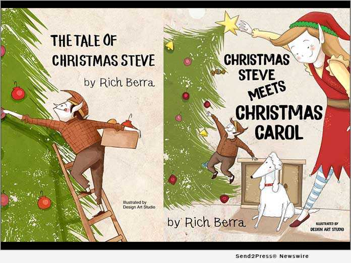 Christmas Steve books by Rich Berra