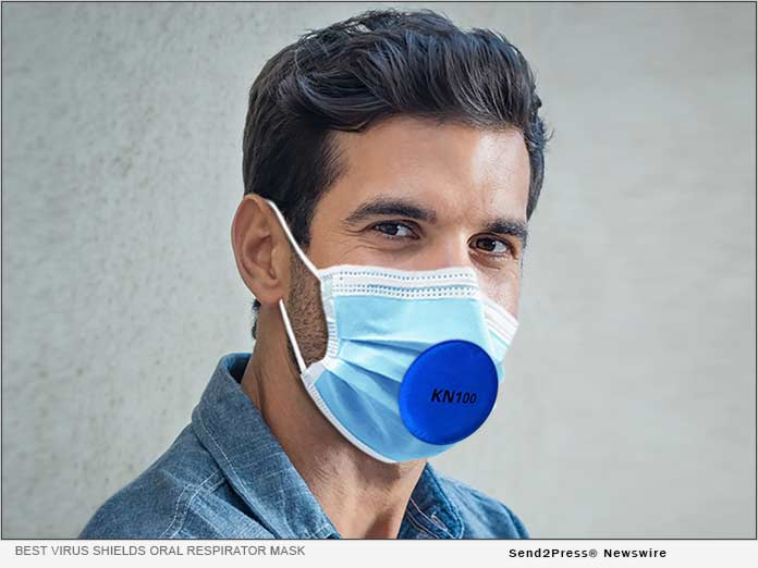 Best Virus Shields oral respirator mask