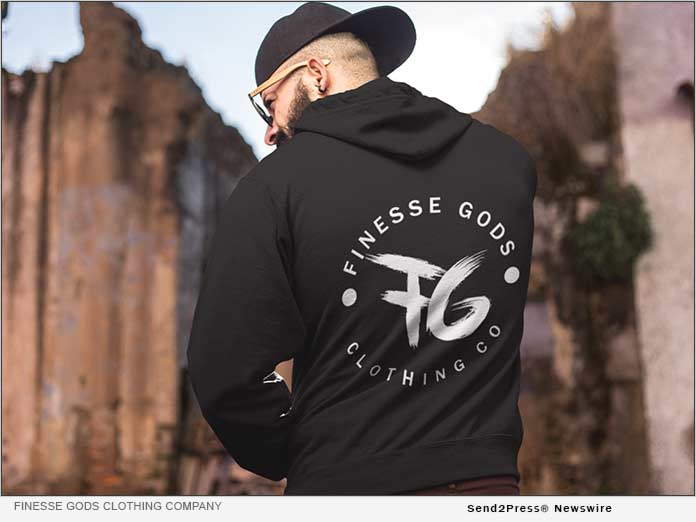 Finesse Gods Clothing - Black Hoodie