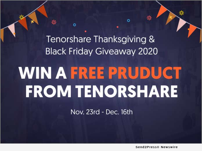 TENORSHARE Black Friday 2020
