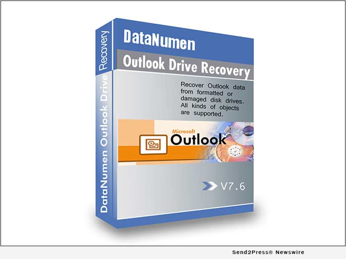 DataNumen Outlook Drive Recovery 7.6