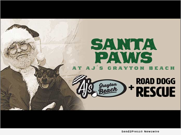 Santa Paws at AJ's Crayton Beach