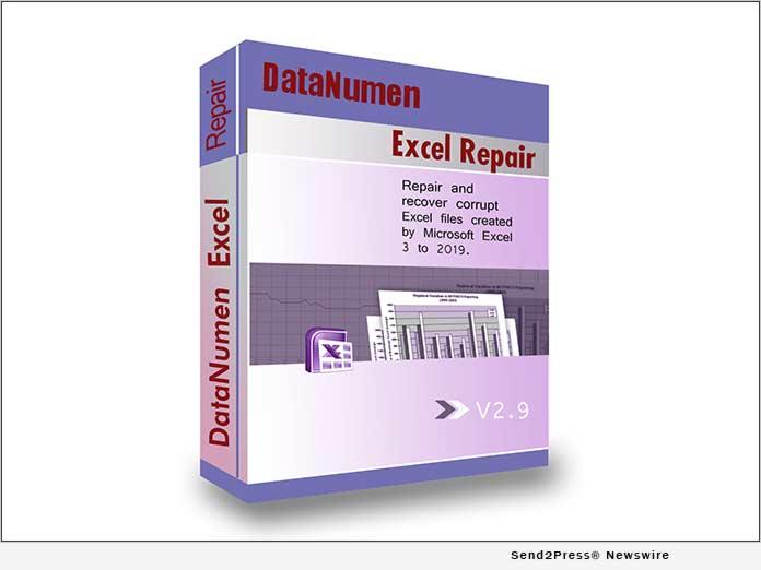 DataNumen Excel Repair v2.9