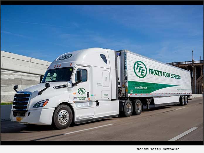 Frozen Food Express truck