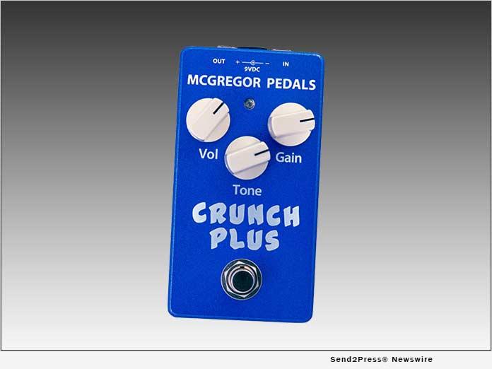 Crunch Plus pedal - McGregor Pedals