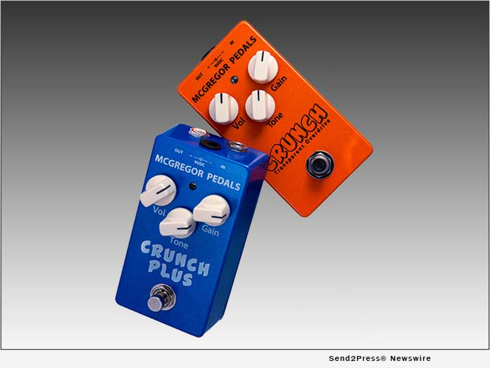 Crunch Transparent Overdrive and Crunch Plus