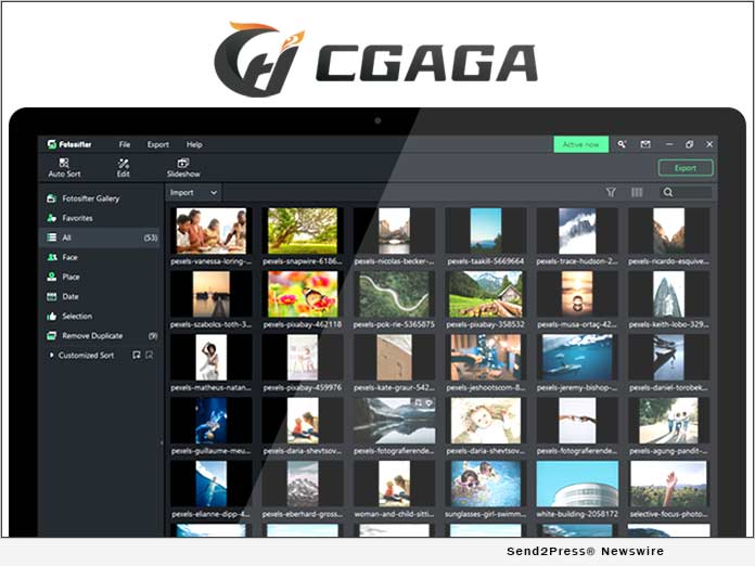 Cgaga Software Launches New Fotosifter