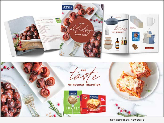 SIMEK'S Launches Holiday Recipe Magazine