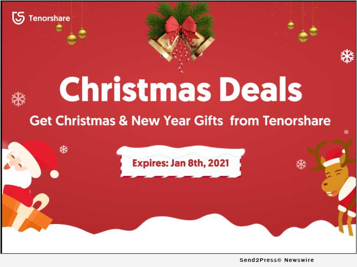 Tenorshare Christmas Deals 2020