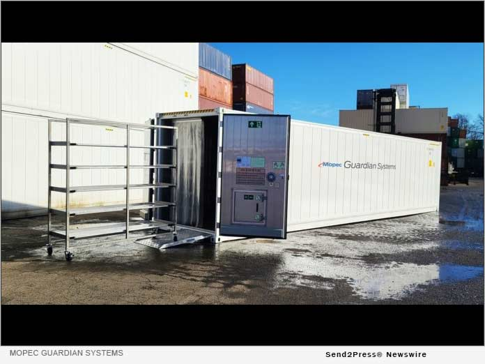 Mopec Guardian Systems Container
